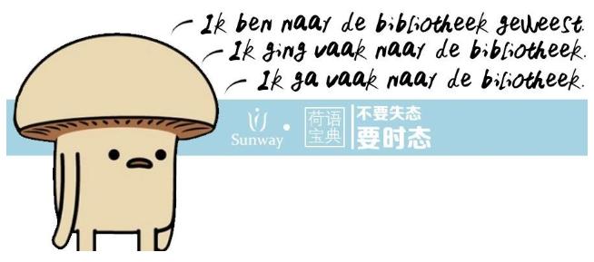 荷兰语时态